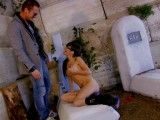 Vidéo porno mobile : Screwing at the cemetery